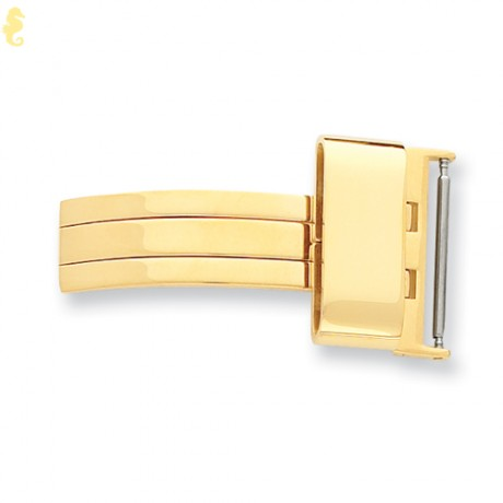 12mm Gold-tone Buckle Deployment Buckle